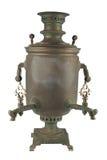 Stary rosyjski herbaciany samowar obrazy stock