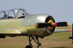 Stary rosyjski samolot Fotografia Royalty Free