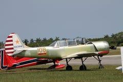 Stary rosyjski samolot Obrazy Royalty Free
