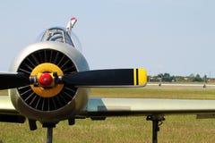 Stary rosyjski samolot Zdjęcia Stock