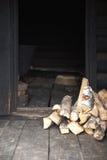 stary rosyjski sauna Obrazy Royalty Free