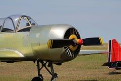 Stary rosyjski trenera samolot Obrazy Royalty Free