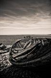 stary rowboat Zdjęcia Stock