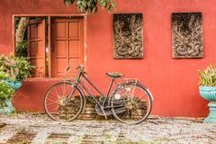 stary rower obraz royalty free