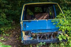 stary rozbity samochód Fotografia Royalty Free