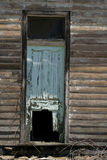 stary rozwalony drzwi Fotografia Royalty Free