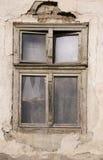 stary rujnujący okno Fotografia Royalty Free
