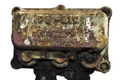 stary rusty zamkniętej maszyn obrazy stock