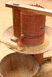 Stary ryżowy mielenie obraz royalty free