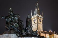 Stary rynek - Praga zdjęcia stock
