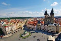 Stary rynek Praga fotografia royalty free