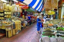 Stary rynek w Chinatown Bangkok Zdjęcia Royalty Free
