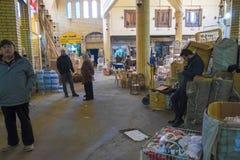 Stary rynek w Erbil mieście, Irak obraz stock