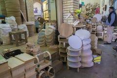 Stary rynek w Erbil mieście, Irak zdjęcia stock