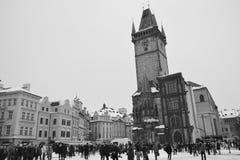 Stary rynek w Praga Obraz Royalty Free