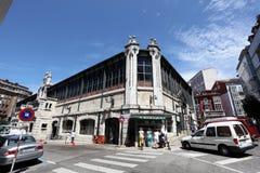 Stary rynek w Santander, Hiszpania Zdjęcie Stock