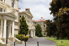 Stary Rządowy budynku kamienia pałac Zdjęcie Stock