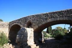 Stary rzymski most przy Pollensa Mallorca obraz royalty free