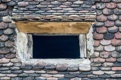 Stary rzymski okno obrazy stock