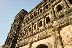 Stary rzymskiego budynku Porta Nigra odważniaka miasto Moselle Zdjęcia Royalty Free