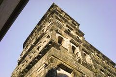 Stary rzymskiego budynku Porta Nigra odważniaka miasto Moselle Zdjęcie Royalty Free