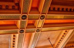 Stary sala sądowa sufit Obraz Stock