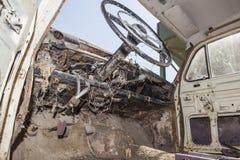 Stary samochód porzucający Fotografia Stock