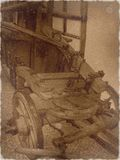 Stary samochód strażacki Zdjęcia Stock