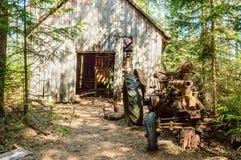 Stary samochodowy cmentarz Fotografia Stock