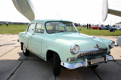 Stary samochodowy Volga zdjęcie royalty free