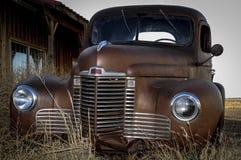Stary samochodowy wrak Obraz Stock