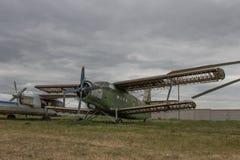 stary samolot Zdjęcia Royalty Free