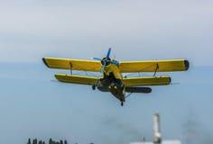 stary samolot Obrazy Royalty Free