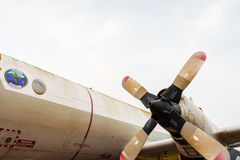 stary samolot Zdjęcie Stock