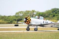 Stary samolotu szturmowego lądowanie Obrazy Royalty Free