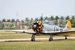 Stary samolotu szturmowego lądowanie Fotografia Royalty Free
