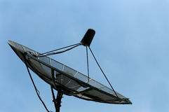 stary satelita statku Fotografia Royalty Free