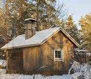 stary sauna Obrazy Stock