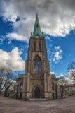 Stary scandinavian kościół w Gothenburg, Szwecja Zdjęcie Royalty Free