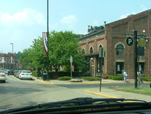 stary sceny ulice miasta Obrazy Stock