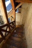 Stary schodek i antyczna architektura w Dijon Zdjęcie Stock