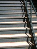 Stary schody Zdjęcie Royalty Free
