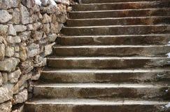 stary schody Obrazy Royalty Free