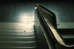 Stary schody Zdjęcia Royalty Free