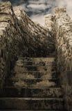 Stary schody Zdjęcia Stock