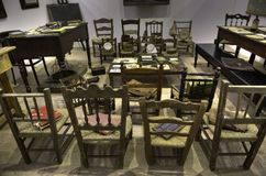 Stary schoolroom Zdjęcie Royalty Free