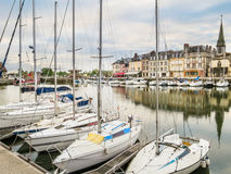 Stary schronienie 05 honfleur France Normandy Obraz Royalty Free