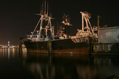stary schronienie statek zdjęcia royalty free