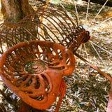Stary siedzenie Fotografia Royalty Free