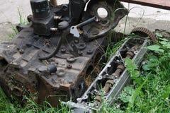 Stary silnik Obrazy Stock